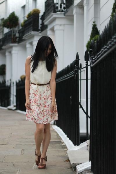 Primark dress - new look wedges