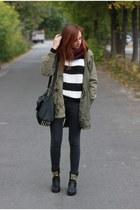 jacket - scarf