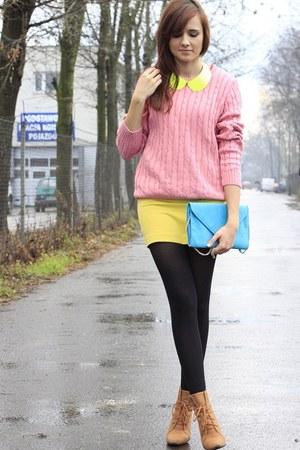sweater - H&M skirt