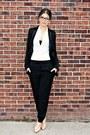 Black-tuxedo-zara-blazer-black-shapewear-vedette-shapewear-bodysuit