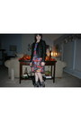 Black-floral-doc-martens-boots-ruby-red-smock-dress-mink-pink-dress