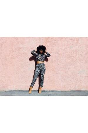 H&M pants - top - Charlotte Russe heels