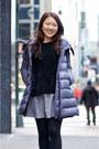 Violet-down-moncler-coat-black-chenille-american-eagle-sweater