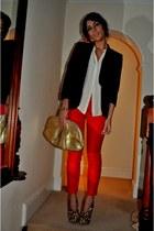 Christian Louboutin boots - Zara jacket - Zara shirt - Miu Miu bag - Zara pants