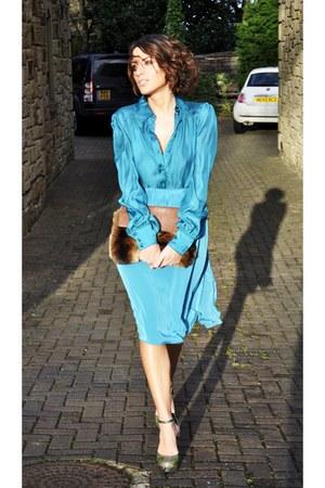 Topshop skirt - Primark heels