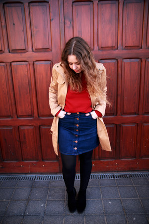 Promod coat - Top Secret skirt