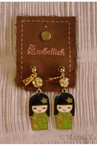 chartreuse Blend Fashion Accessories earrings