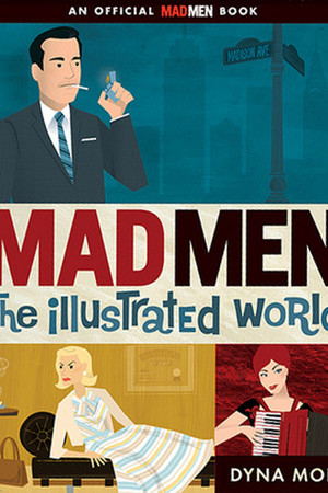 teal Mad Men The Illustrated World accessories