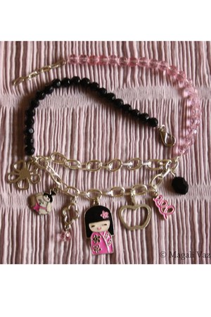 bubble gum Blend Fashion Accessories necklace - black Blend Fashion Accessories