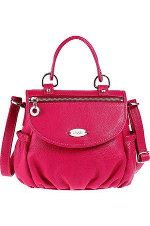 pink hidesign purse