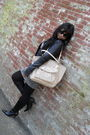 Beige-coach-purse-black-coach-sunglasses-black-zara-jacket-gray-forever-21