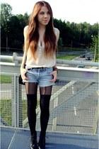 black H&M tights