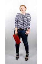 Rodarte for Target shirt - Levis jeans - vintage purse - Steve Madden - vintage