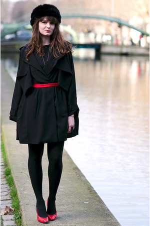 black Derhy jacket
