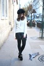 black manie boots - black Toutacoo hat