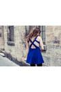 Blue-sheinside-dress