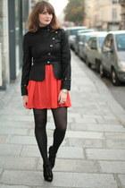 red Monki dress