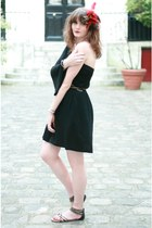 black H&M dress