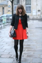 red Monki dress