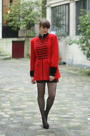 ruby red vintage jacket