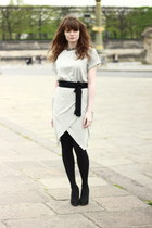heather gray Sheinsidecom dress
