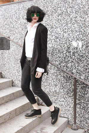 black Front Row Shop blazer