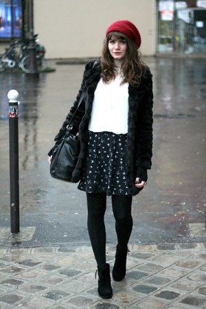 black AX Paris coat