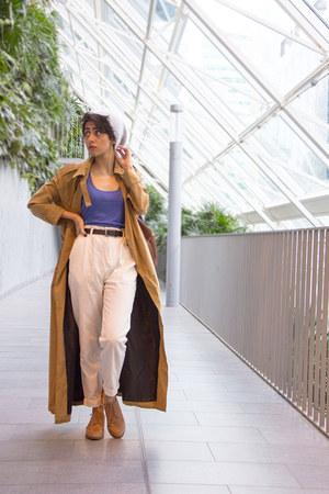 rain coat Urban Outfitters coat - H&M shoes - grey wooden OAK  FORT hat