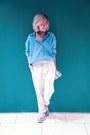 White-forever-21-pants