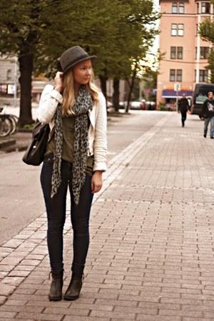 asos scarf - H&M hat