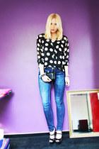 Monki jeans - lovely clutch OASAP bag