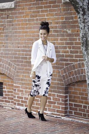 Zara skirt - Prada boots - Zara vest - Zara blouse
