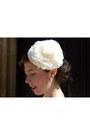 Light-pink-sandro-dress-ivory-lukita-hat-pink-vintage-bag-dark-brown-compt