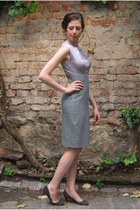 heather gray Martin del Hierro dress