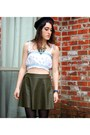 Lace-up-boots-forever-21-boots-frock-candy-skirt