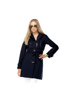 navy Michael Kors coat