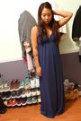 Blue-maxi-dress