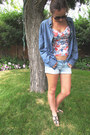 Dockers-jacket-bluenotes-shorts-asos-top-aerosole-wedges