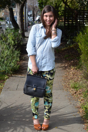 Zara pants - sam edelman shoes - hm shirt
