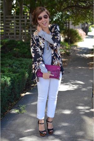 kimono thrifted diy jacket
