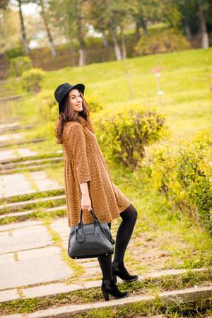 Mango boots - H&M dress - Pimkie hat