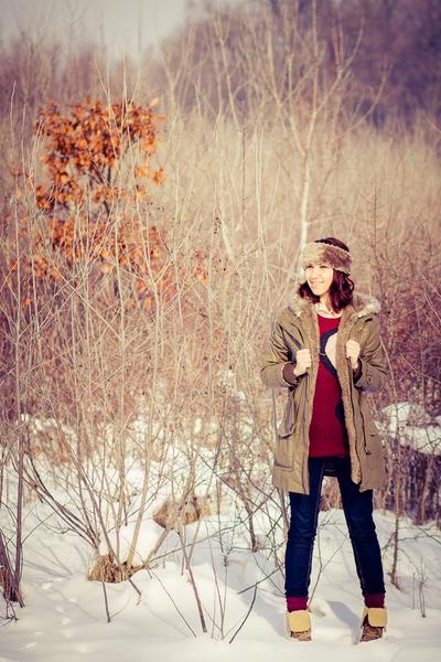 Mango jeans - Timberland boots - fake fur Mango jacket - Koton sweater