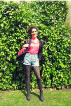 Primark blouse - Mari Paz boots - Pull & Bear blazer