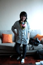 SM shirt - Urban Outfitters gifted sweater - bench skinny jeans - People are Peo