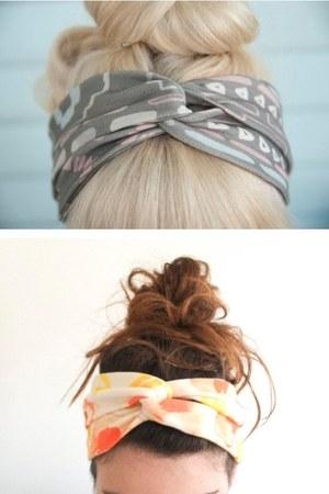 silver hair accessory - ivory hair accessory