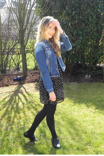 Primark dress - pull&bear jacket - new look flats
