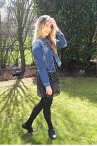 Primark dress - pull&bear jacket - new look flats