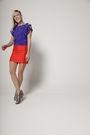 Red-cavortress-skirt-purple-cavortress-blouse-silver-steven-by-steve-madden-