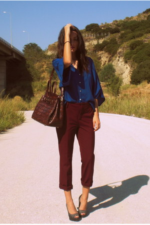 Zara pants - Zara shirt