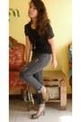 Black-denim-jeans-bobson-jeans-dark-green-handbag-prada-bag-black-lace-top-b